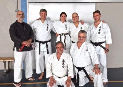 2016-03-19 - stage de karate shotokanfekamt - saint genis laval (69) sensei philippe renault, mario, margot, jean-françois, laurent, pierre et guy bigot-[kcg]