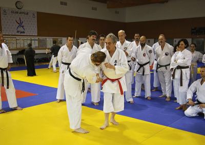 2016-11-05 - stage européen arts martiaux fekamt en mémoire à gilbert gruss - experts de la fekamt - toutes disciplines (ag) - gien (45) - sandro, pierre sensei, tina, béatriz [kcg]